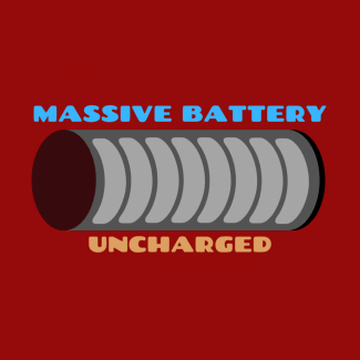 Massive Battery - Uncharged